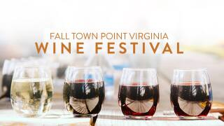 Fall Town Point Virginia Wine Festival returns in October