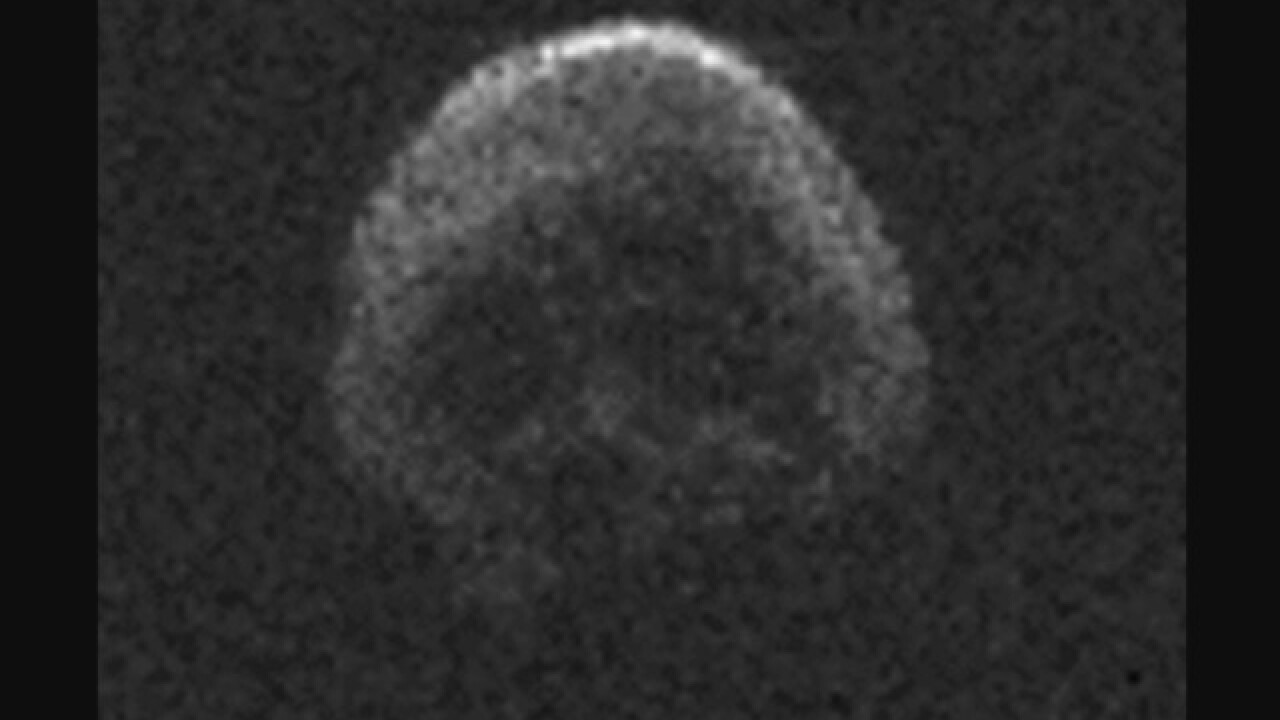 Despite rumors, a skull-shaped asteroid is not headed for Earth this Halloween