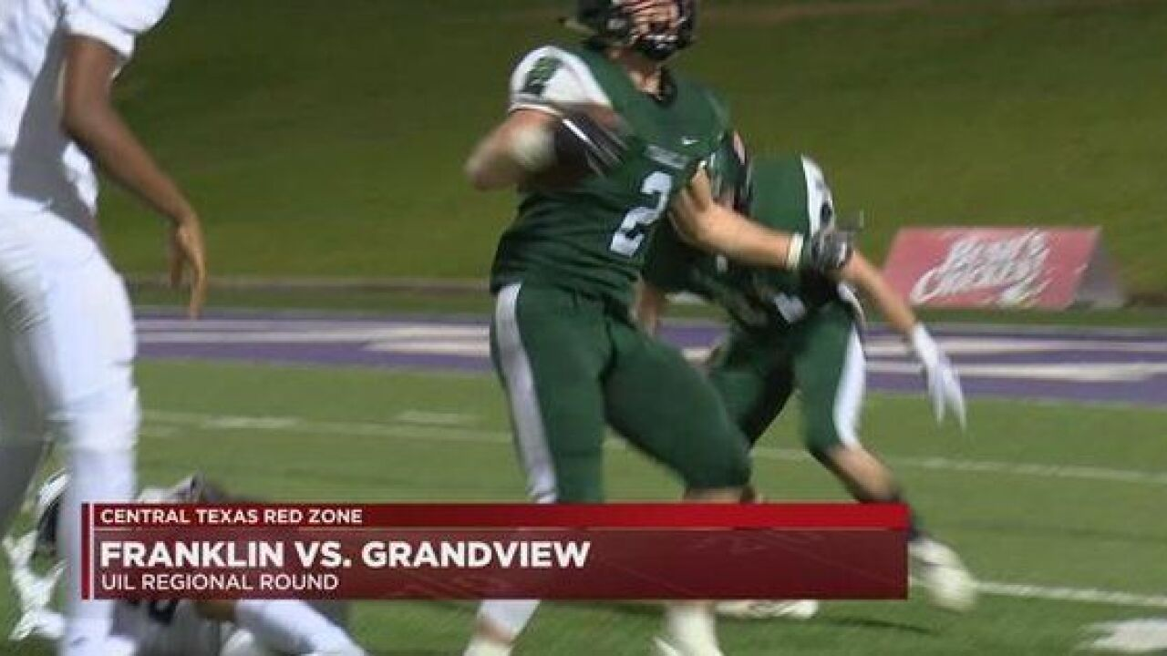 Red zone mistakes cost Franklin against Grandview