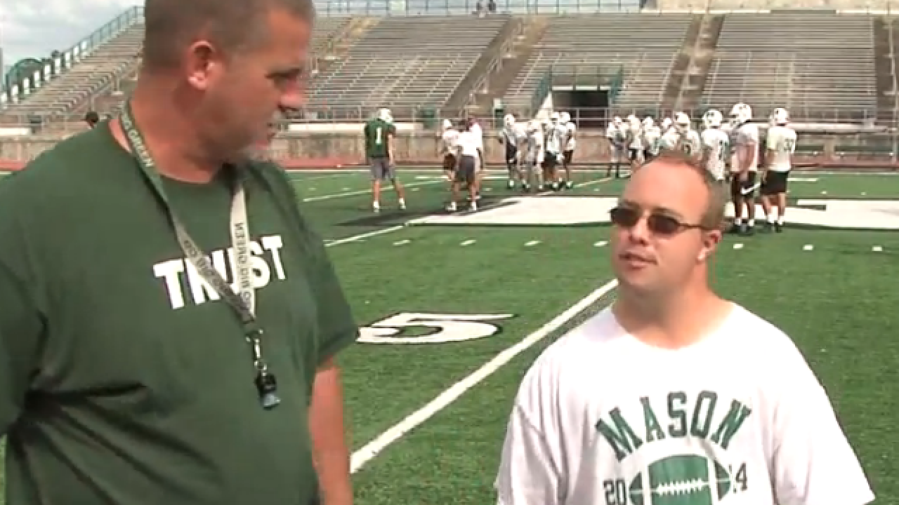 Nate Petrey Mason High School Football Coach With Down Syndrome