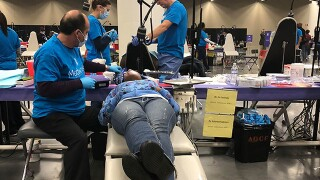 Free dental care for everyone at the Cleveland Convention Center