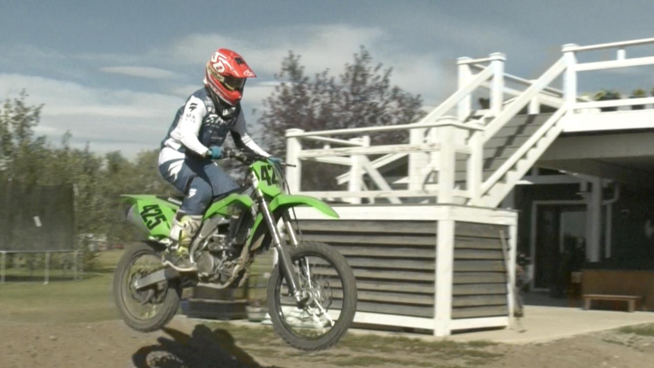 MX pro shop dirt bike track