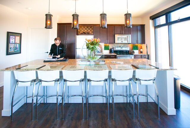 HOME TOUR: Eclectic high-rise apartment at Ironworks