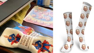 Treasure Coast business sells 2,000 pair of socks with Dr. Fauci's face on them