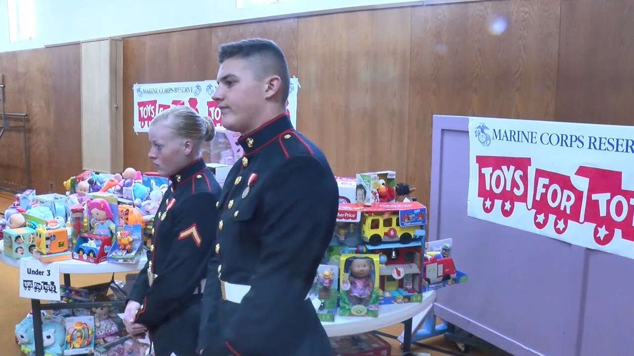 Salvation Army Toys for Tots