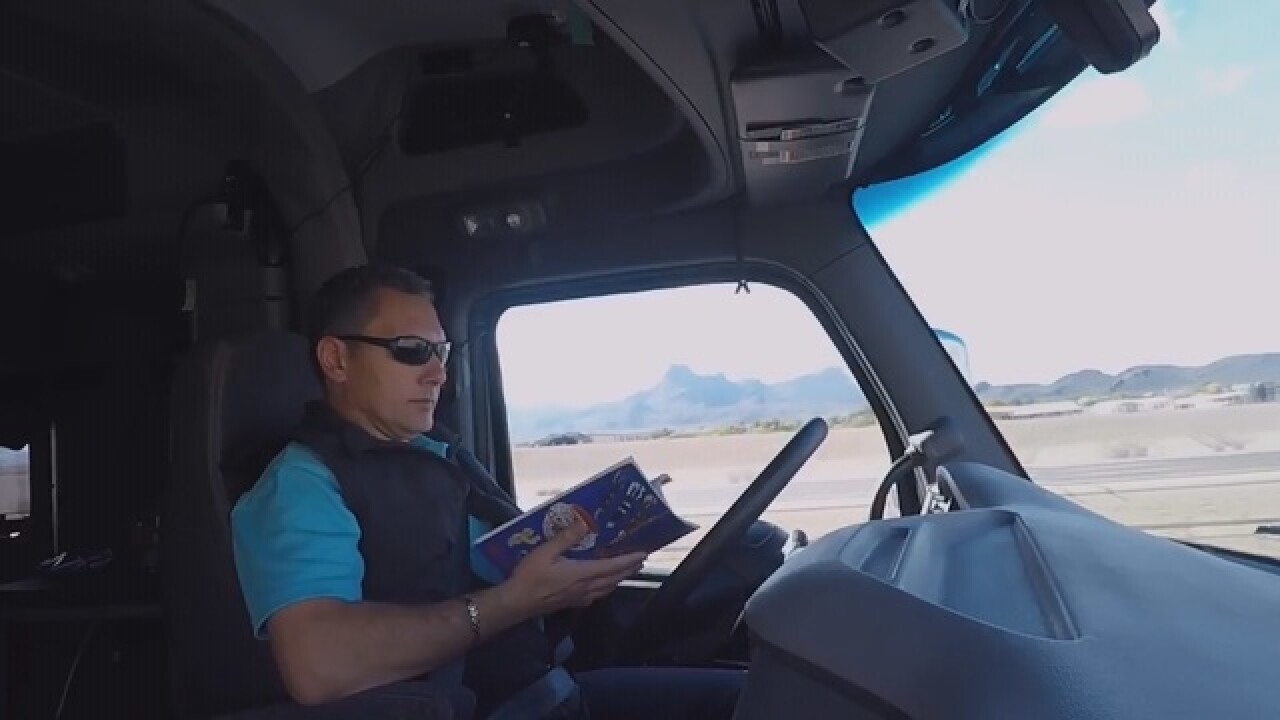 Will robot trucks rule the road?