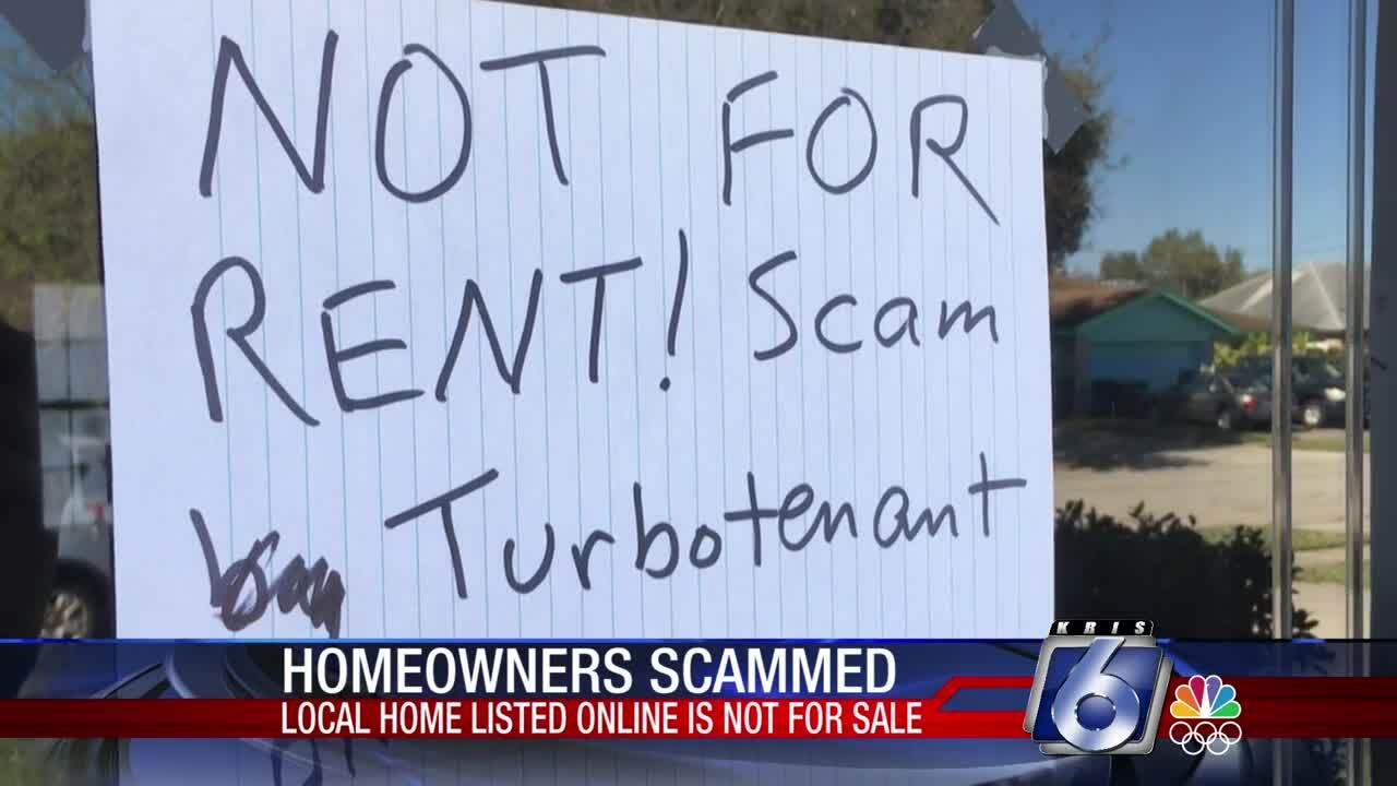 Owners of this Flour Bluff house say it is not for sale.