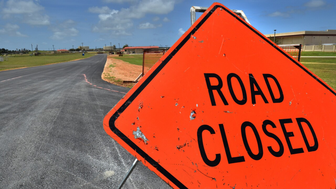 Cornhusker Road closed between Highway 31 and 192nd Street