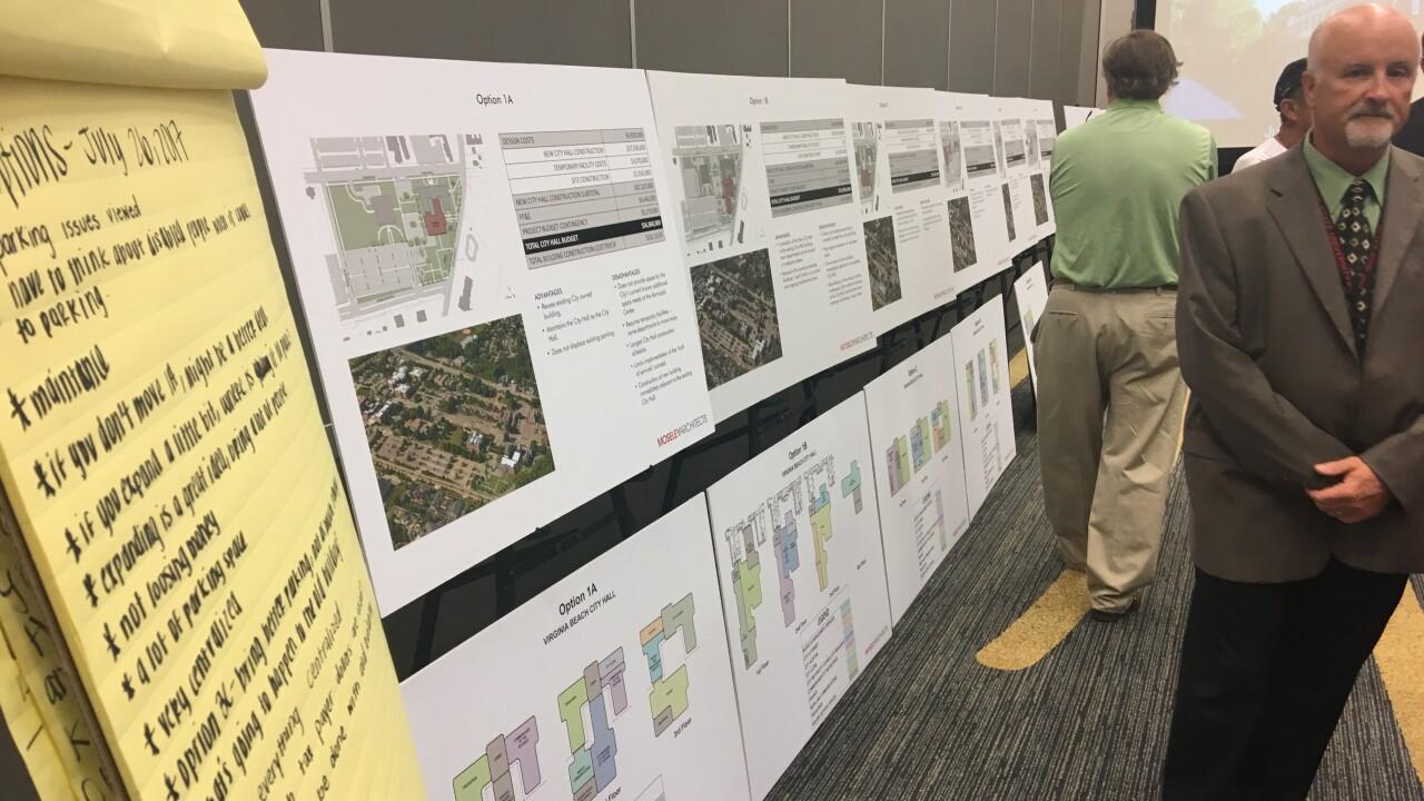 Virginia Beach holds second public meeting on City Hallfuture