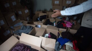 Clothing Drive (FILE)