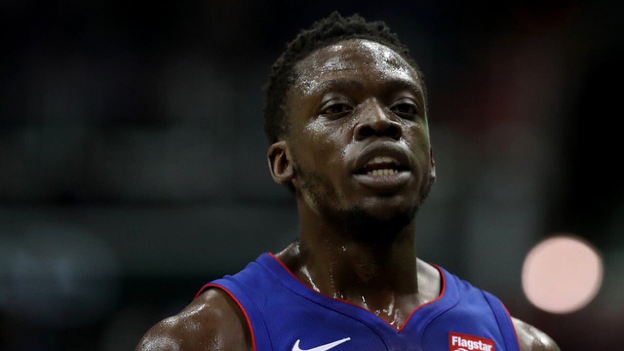 Reggie Jackson returns to five-on-five workouts at Pistons camp