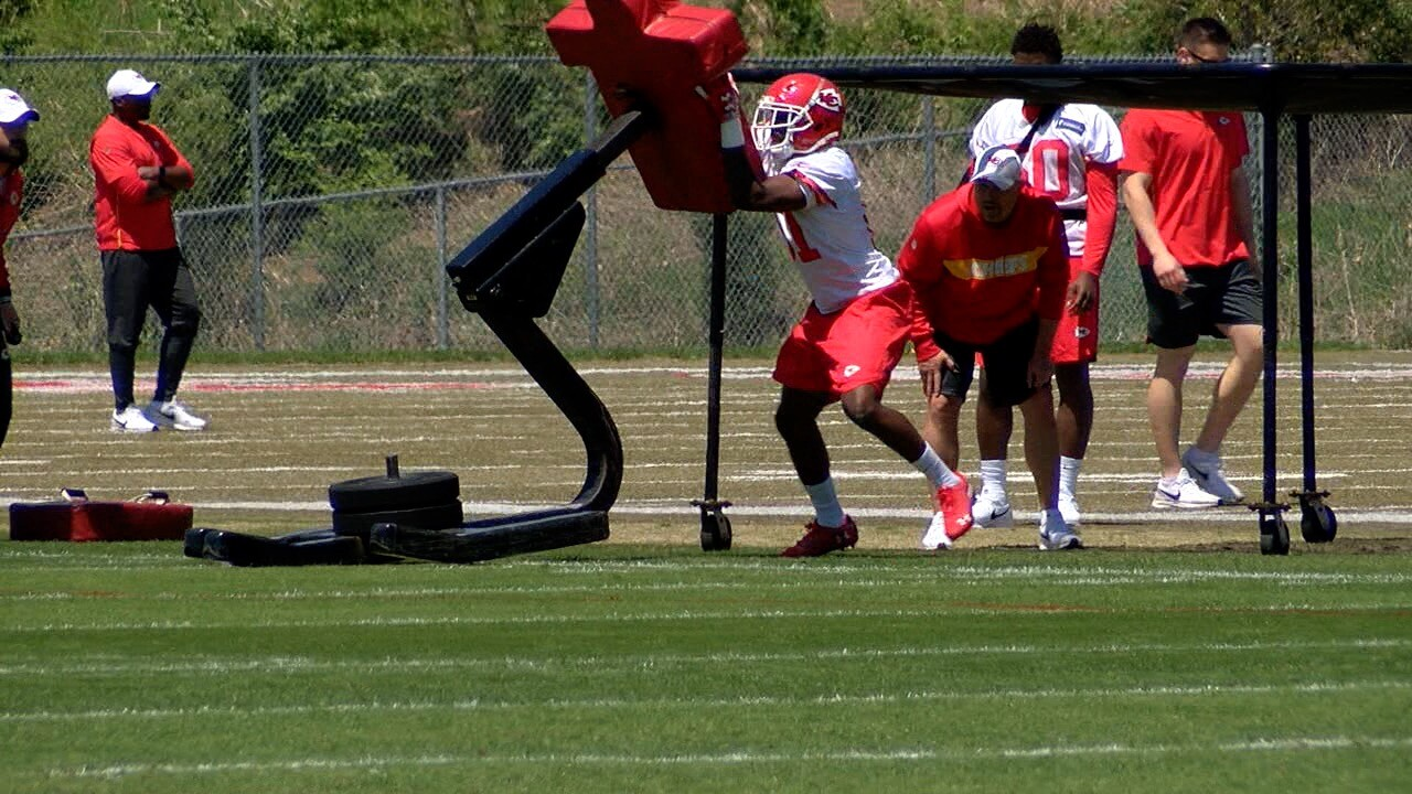 Chiefs Rookie Minicamp Day 1
