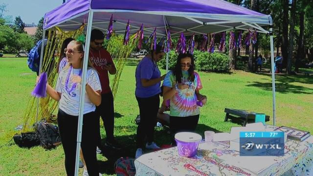 Florida State University prepares for Relay for Life