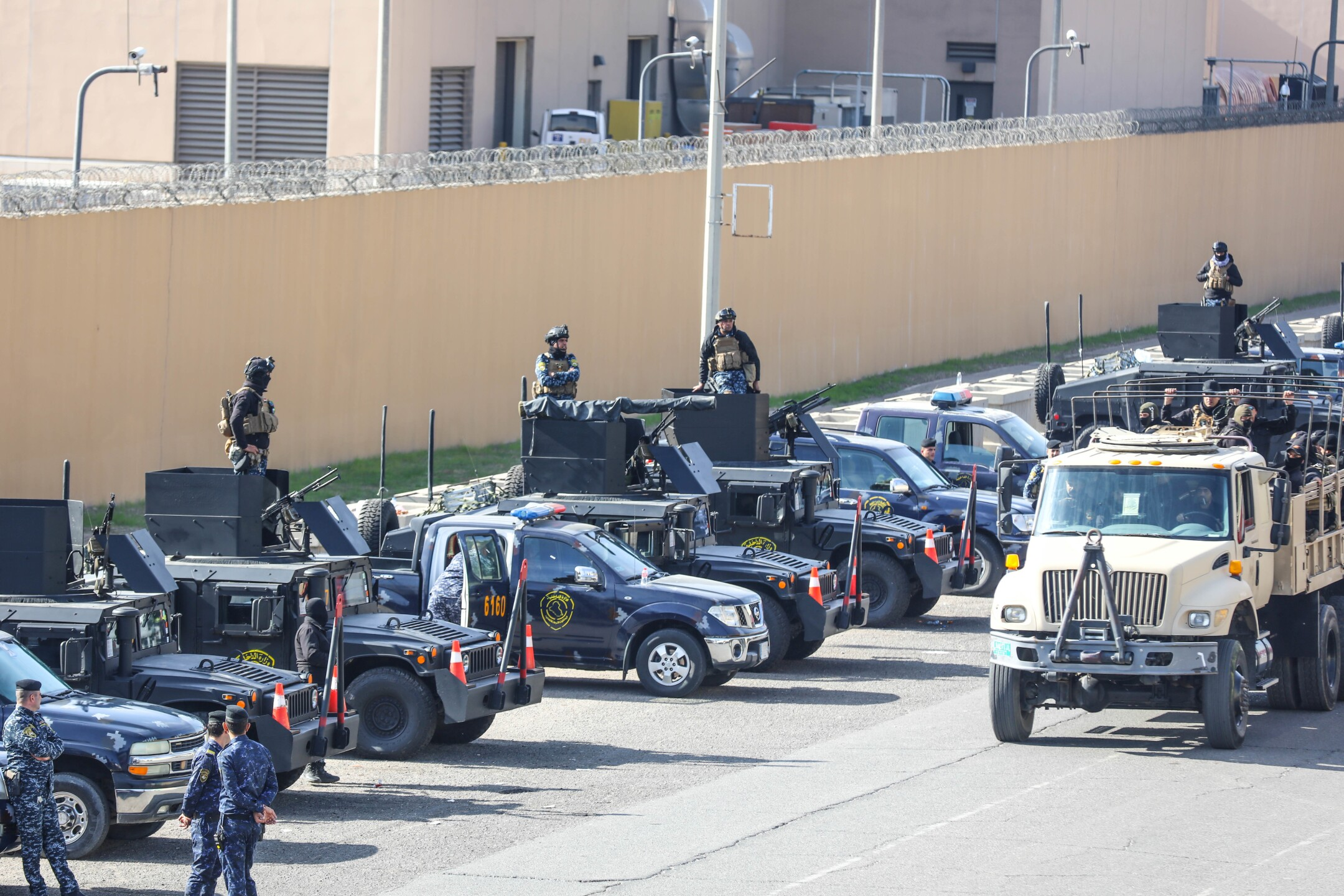 Iraqi Security Forces Respond to U.S. Embassy Attack