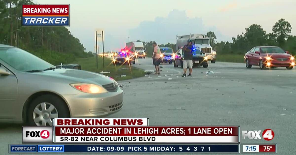 Ten people injured in serious crash on State Road 82 in