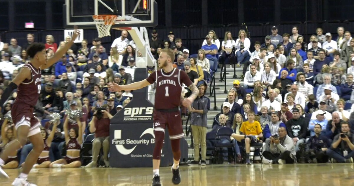 Timmy Falls shows grit and toughness while battling through injury for Montana