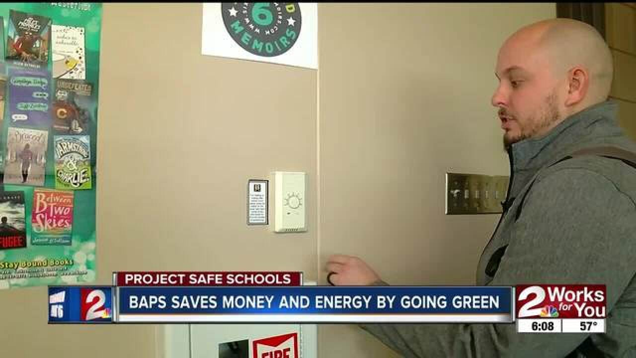 Energy efficiency saves money for BA schools