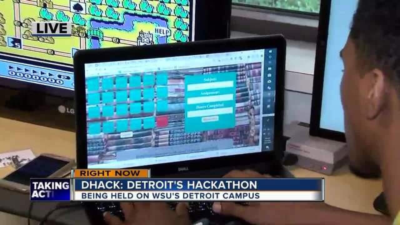 DHack: Detroit's Hackathon