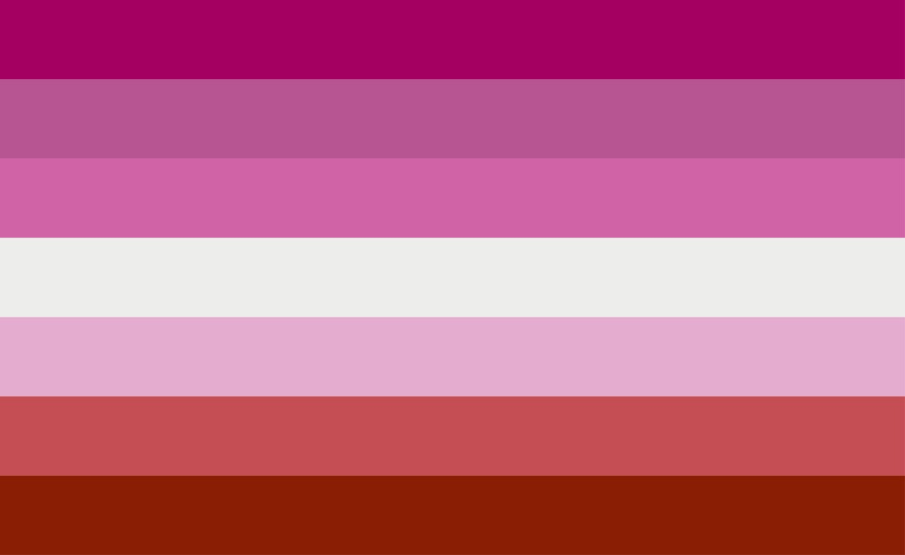 Vector,Illustration,Of,Lesbian,Flag.,Simple,Lgbt,Symbol,Wallpaper,And