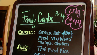 Family combo deal at Chef's Choice Noodle Bar