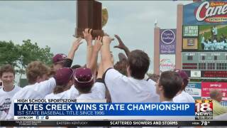 Tates Creek Wins State Baseball Championship