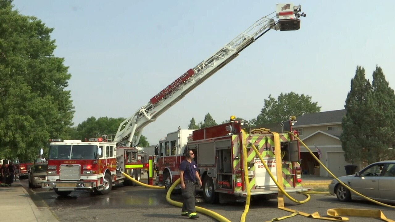 One person injured in Billings apartment fire