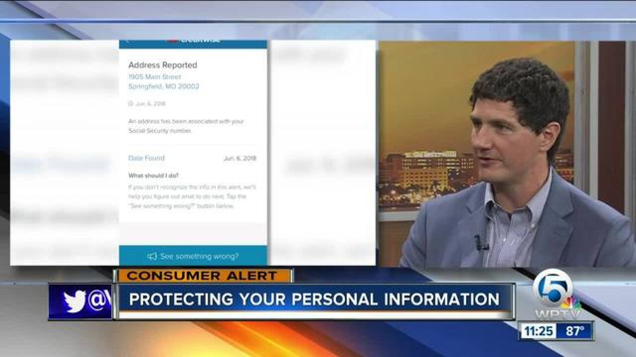 Advice on protecting yourself from identity thieves