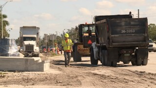 Southern Boulevard construction