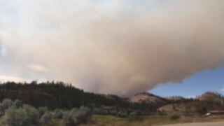 Big Horn County fire still remains a threat to 100 homes