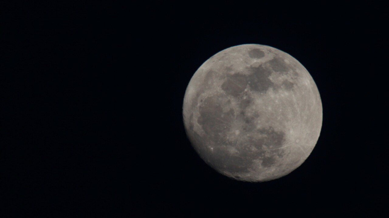 Christmas full moon hasn't been seen since 1977