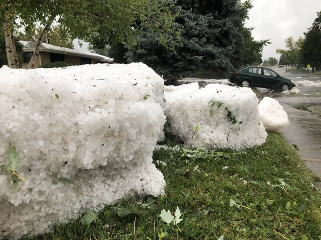 GALLERY: Storm brings hail, flooding to parts of Lakewood