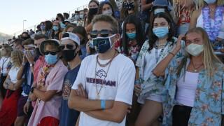 Virus Outbreak High School Sports Football