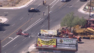 Deadly accident near 7th Avenue and Broadway