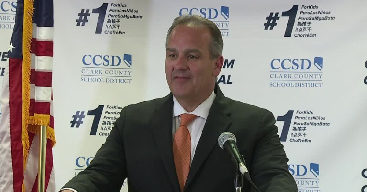 WATCH: CCSD Supt. discusses funding formula overhaul