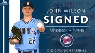 John Wilson (Courtesy ODU baseball)