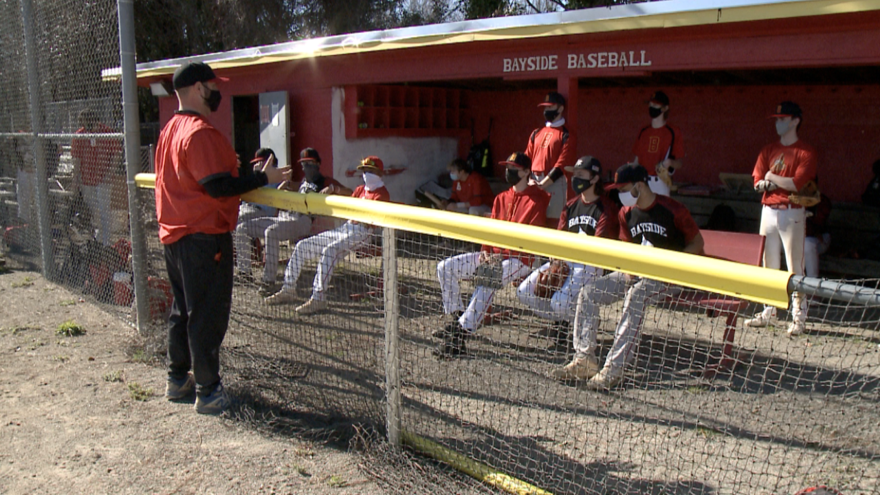Bayside High School baseball