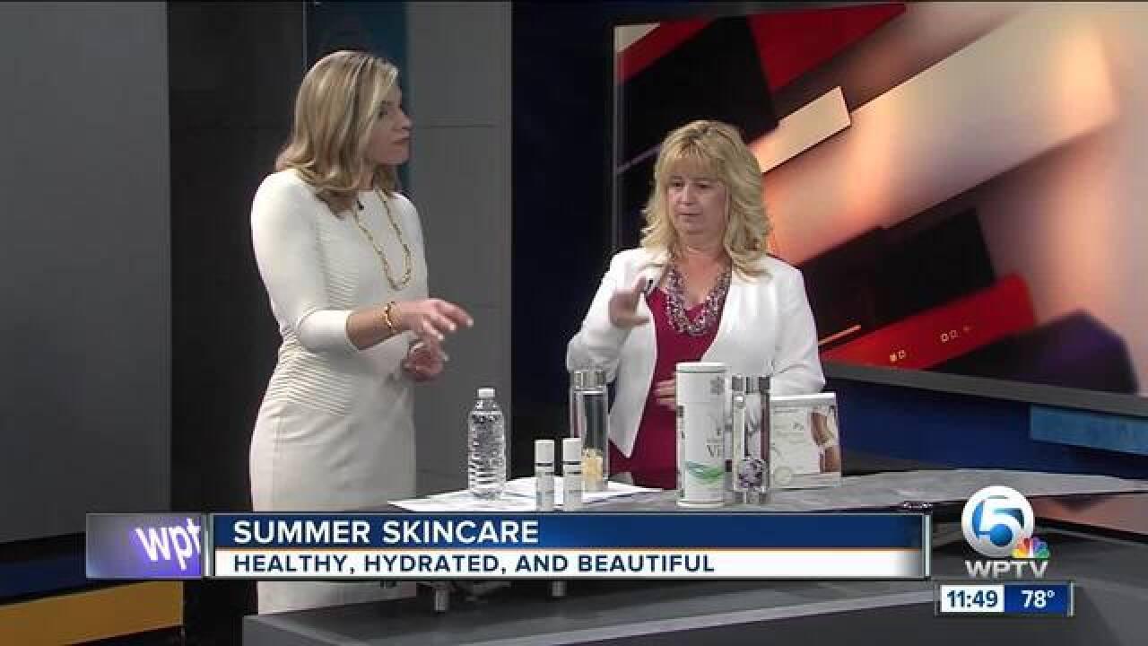 Summer skincare advice