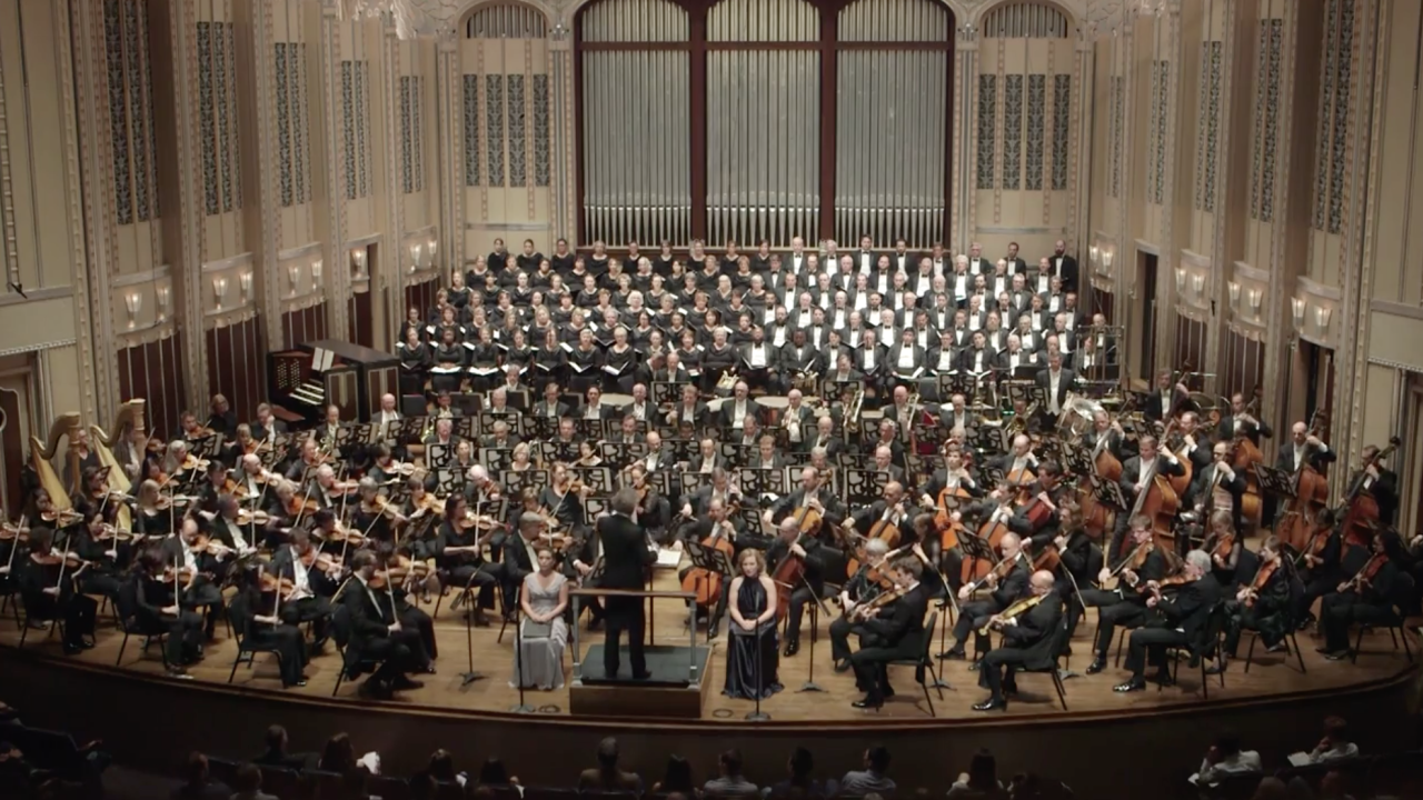 File image: The Cleveland Orchestra.