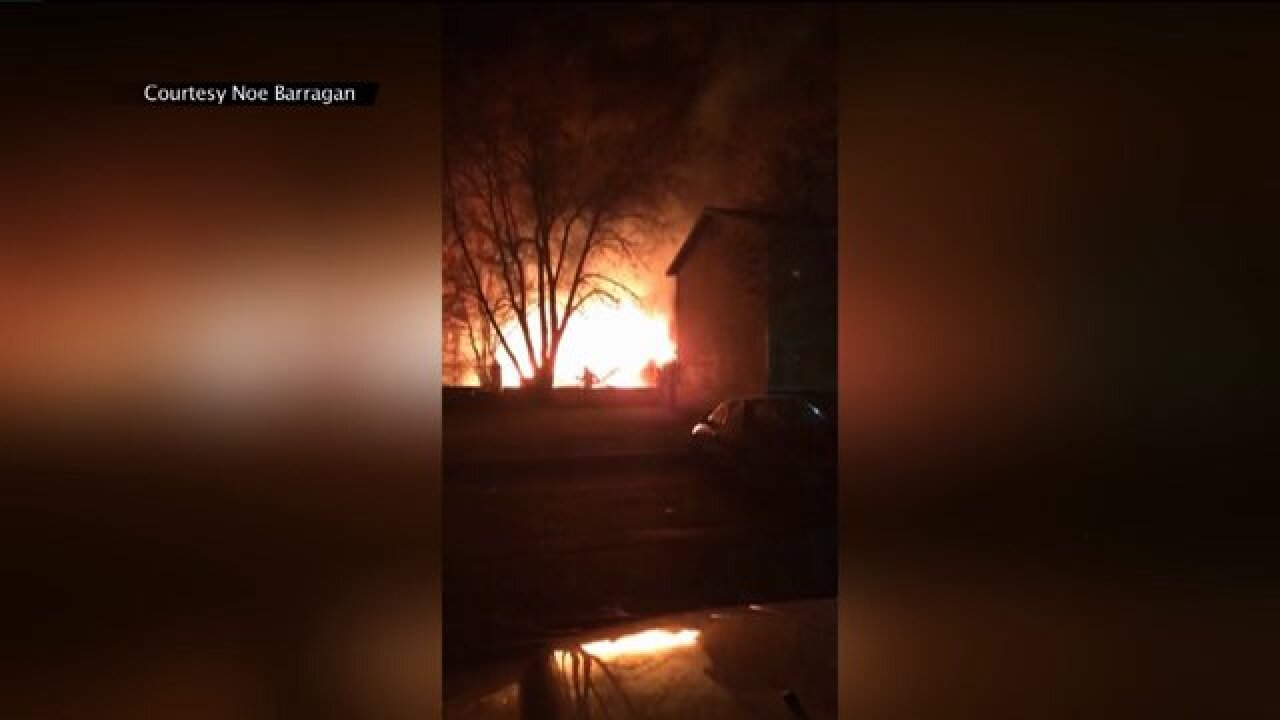 2-alarm structure fire in Rose Park displaces family of 7