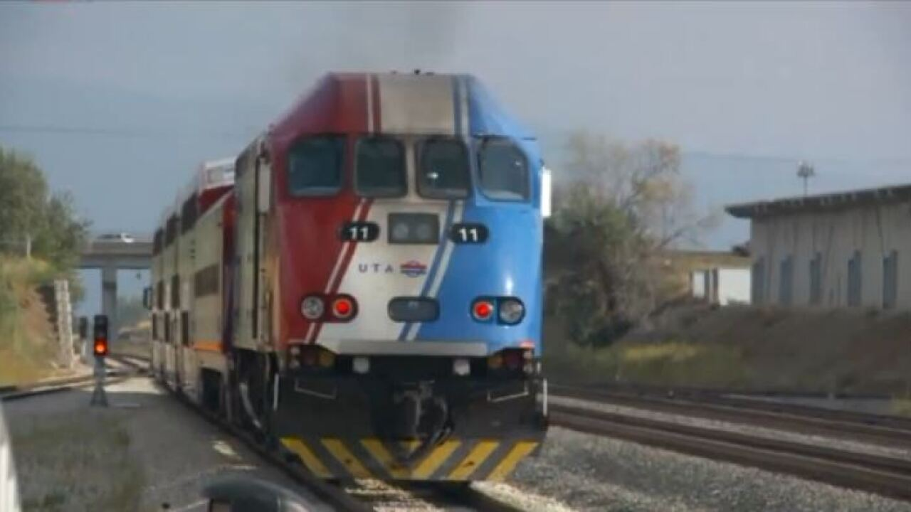 FrontRunner passengers upset after UTA host allegedly ignored elderly woman who fell on platform