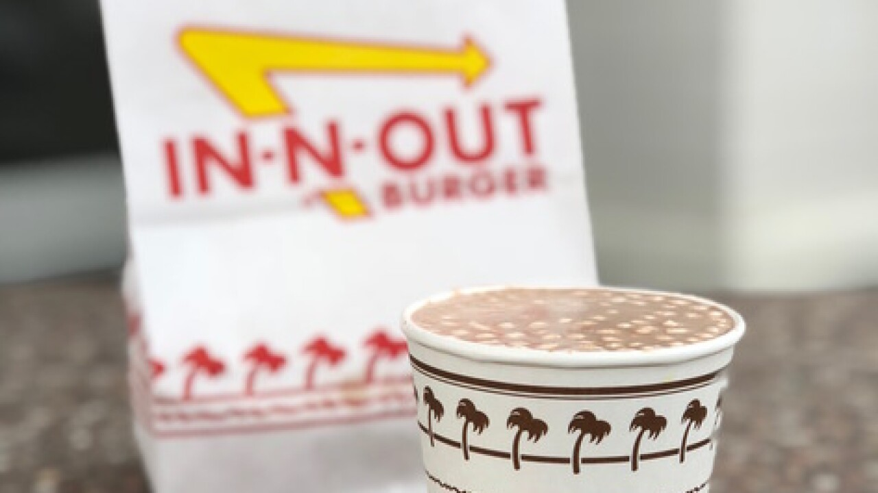 In-N-Out now serves hot chocolate