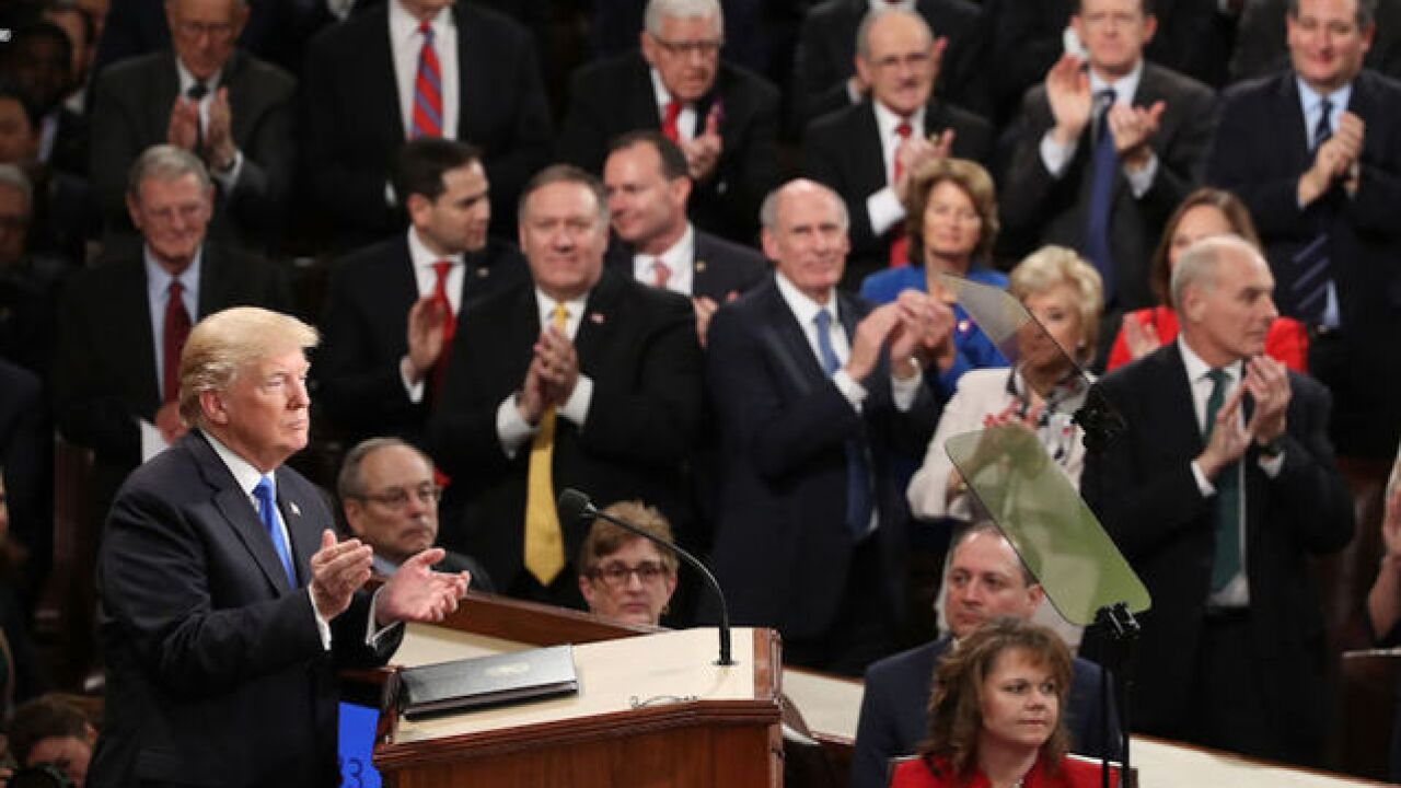 LIVE: Trump's first State of the Union address