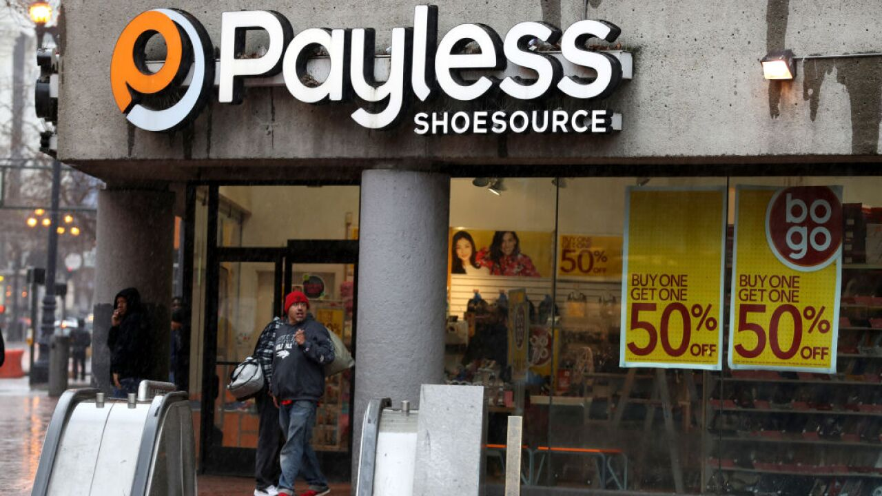21284d364d8 Payless plans to close during its second bankruptcy