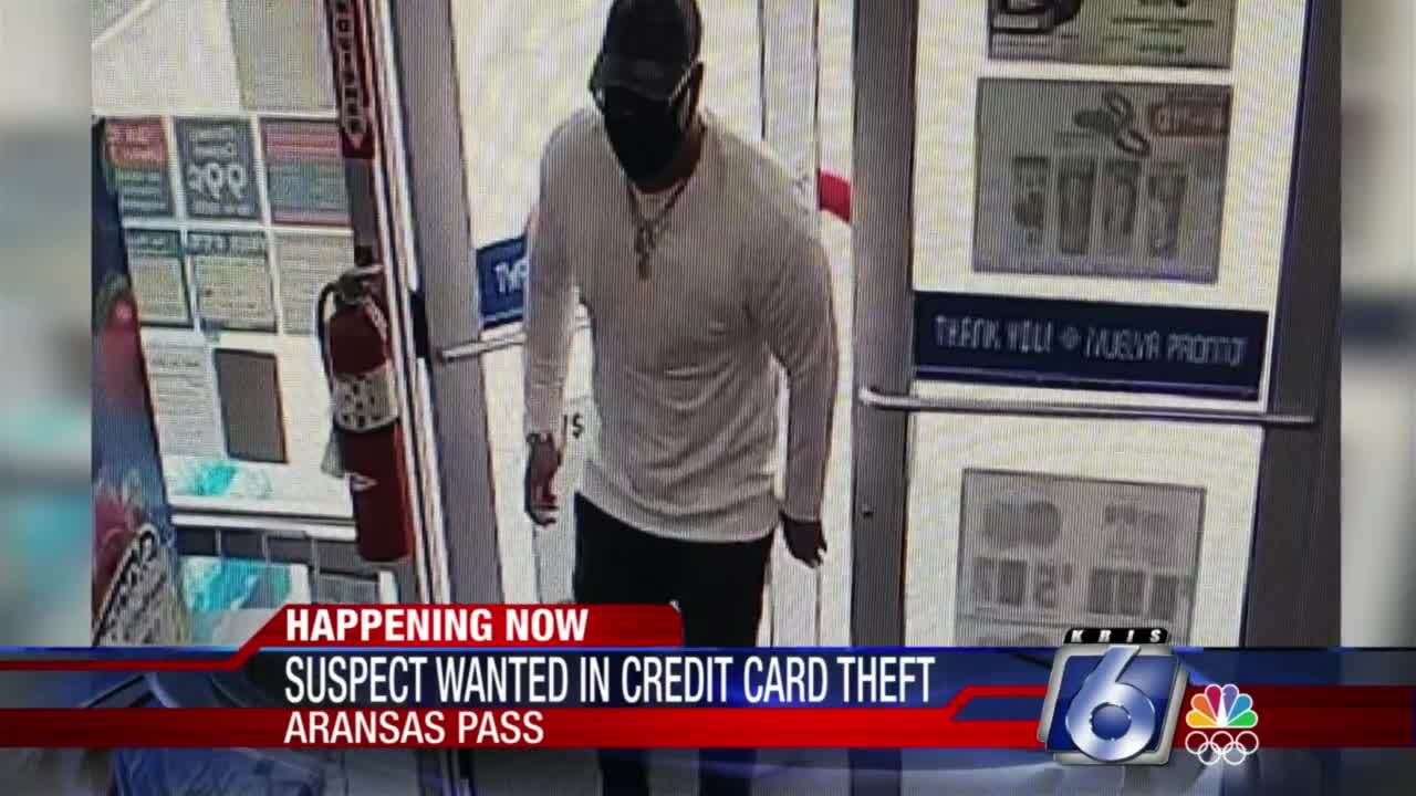 Aransas Pass PD looking for credit card skimmer