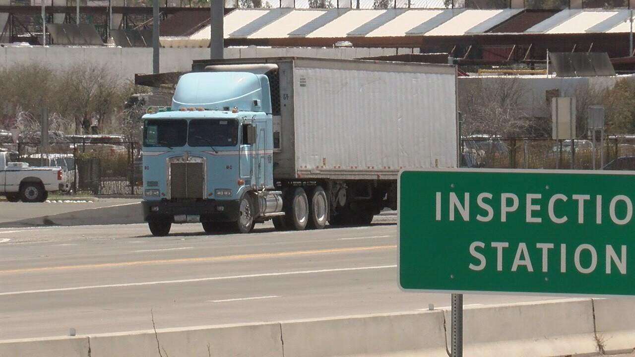 2019-04-01 If border closes-truck leaving.jpg