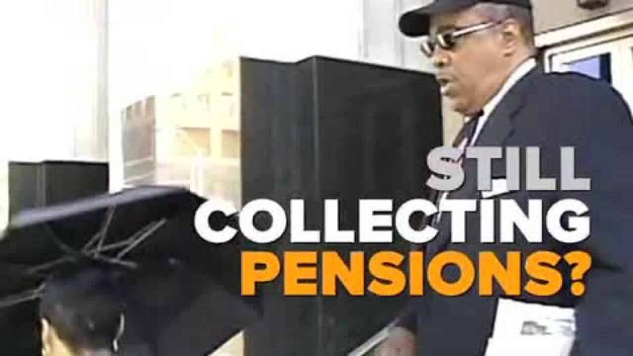 Ex-public employees steal from taxpayers, then enjoy public pensions