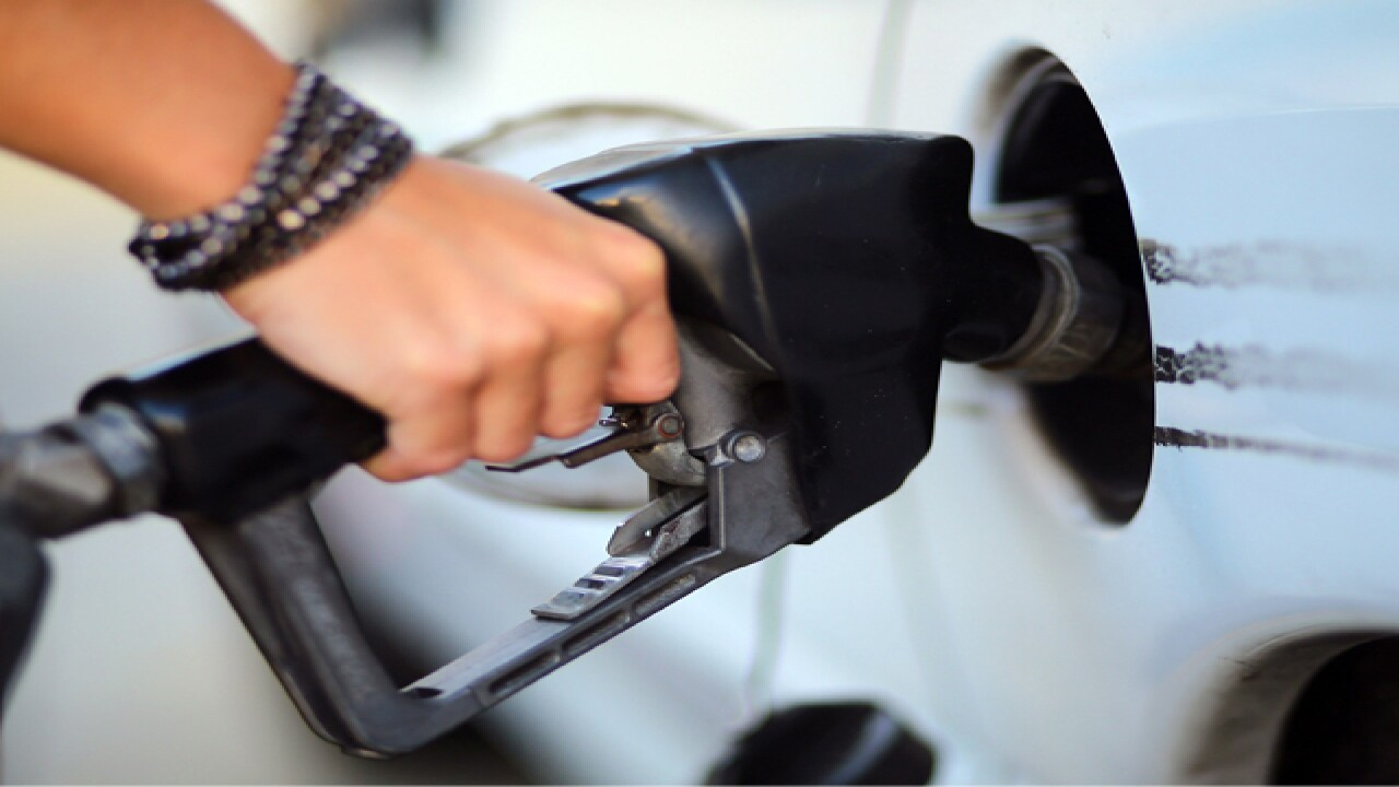 Gas prices go down 2 cents over past week