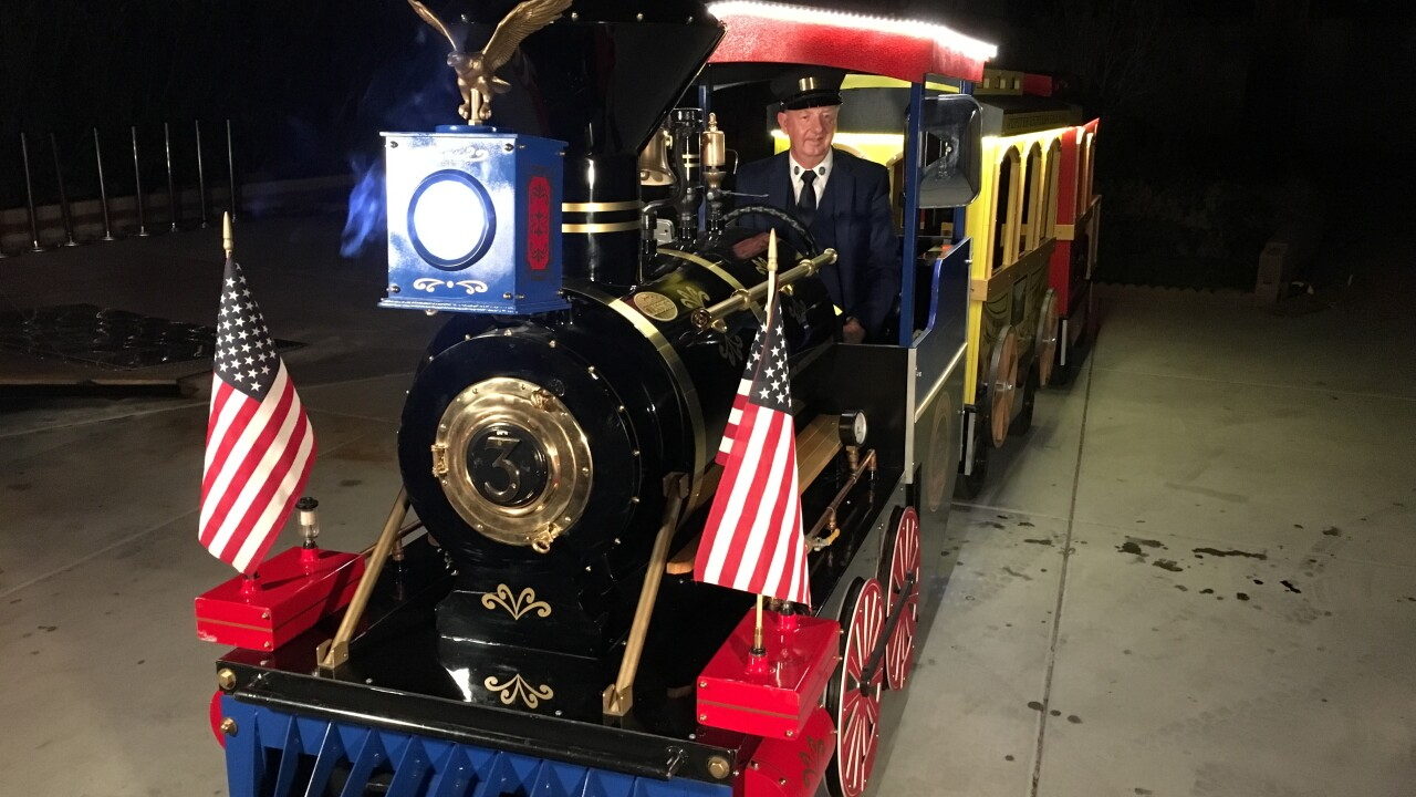 A Las Vegas family is asking for help in locating a stolen trailer with a miniature train inside