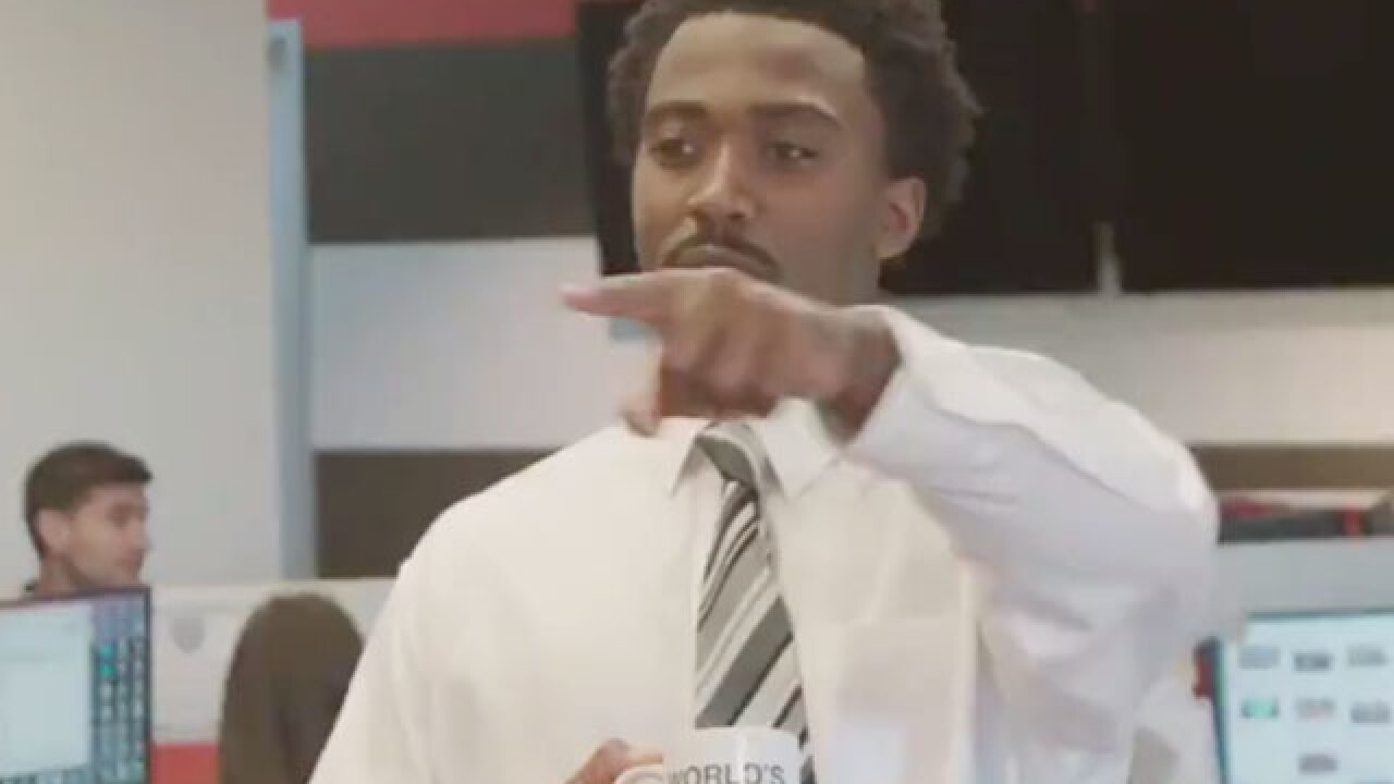 The Browns make spot-on parody of the opening credits of The Office