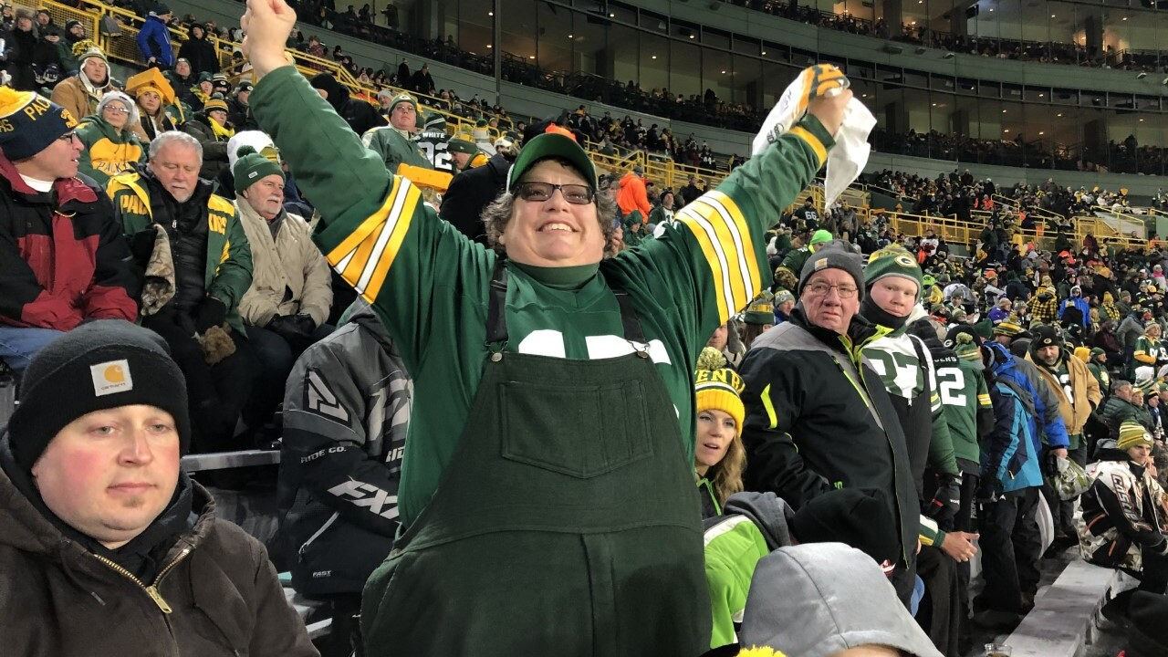 Passionate Packers fans await the chance to cheer on their team at Lambeau next week